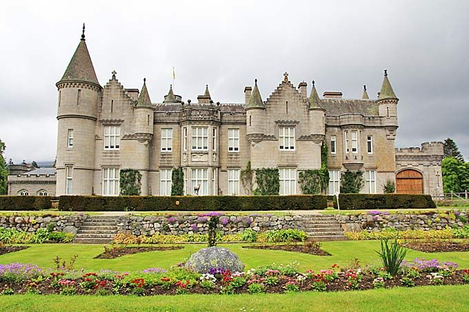 Balmoral Castle. Royal Deeside, Aberdeenshire, Scotland. The Scottish Home of the Royal Family since 1848.