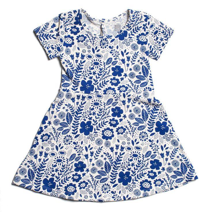 Casablanca Dress - Wildflowers Blue