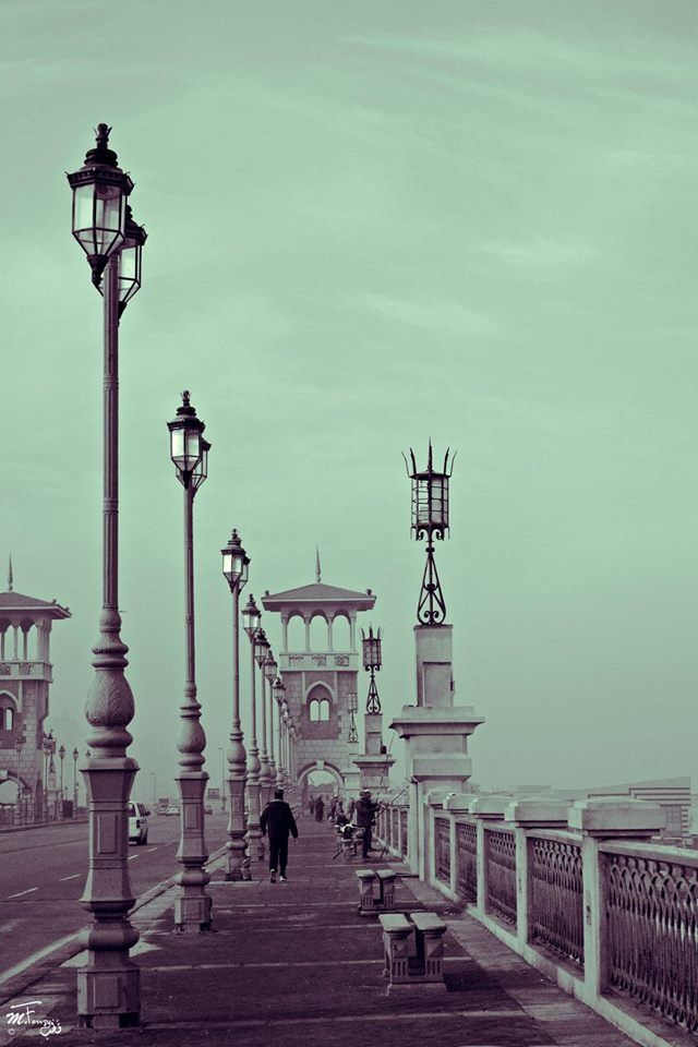 Stanley Bridge, San Stefano, #Alexandria #Egypt