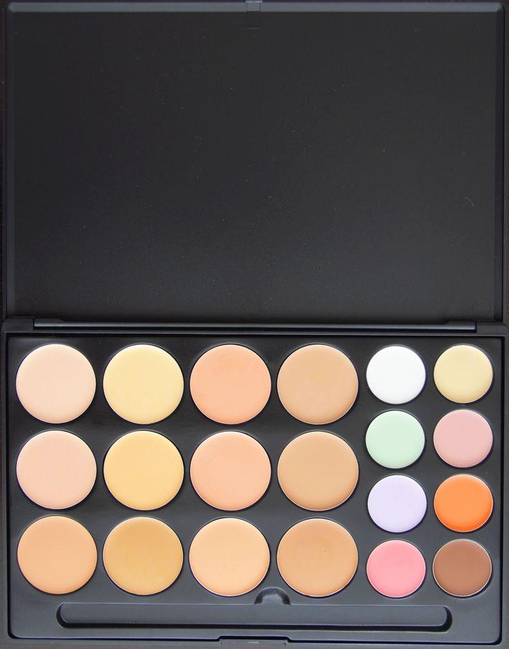 Trusa de corectoare 20 de culori disponibila pe www.paletutze.ro