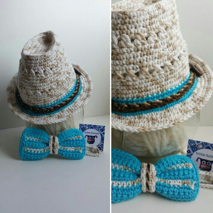 Sombrero crochet estilo Tutitas Tejedoras <3