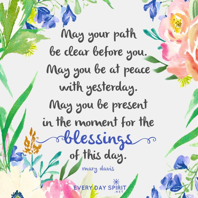 Image result for blessings flowing quotes