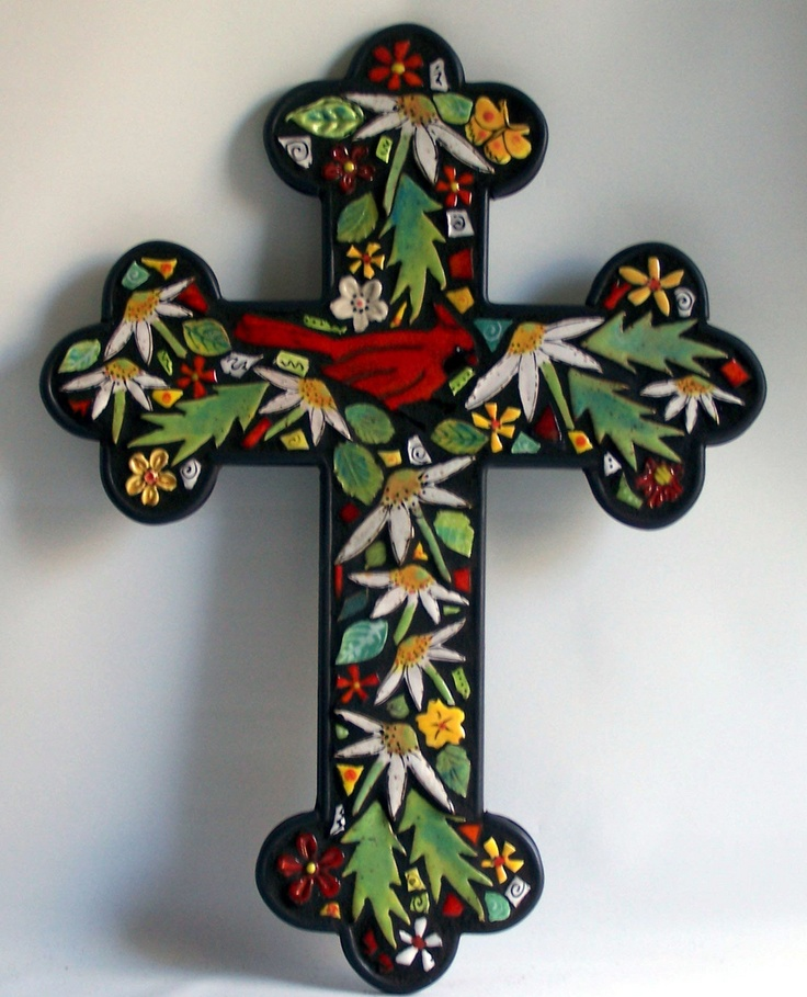 17 best images about cross on pinterest antique window for Crossing the shallows tile mural