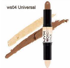 NYX Wonder Stick, Highlight and Contour Stick Beauty Makeup Color - 04 Universal