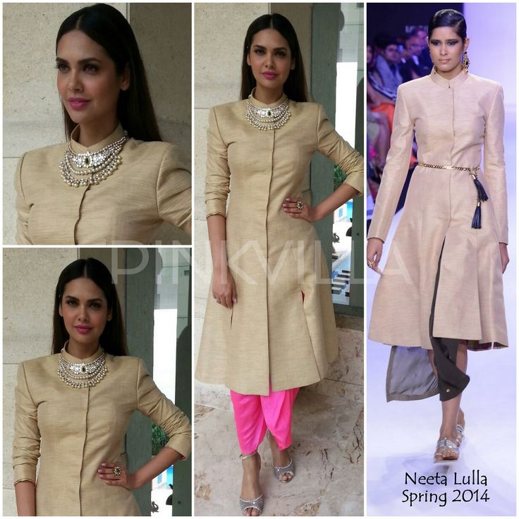Yay or Nay : Esha Gupta in Neeta Lulla and Anita Dongre