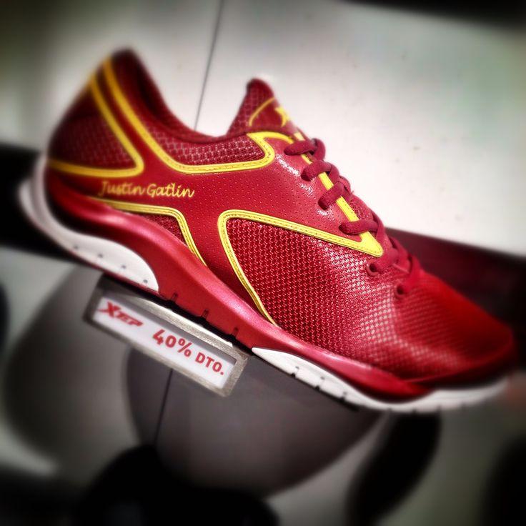 #xtep #shoes #sports #fashion #fashionsport #zapatillas #running #training #justingatlin