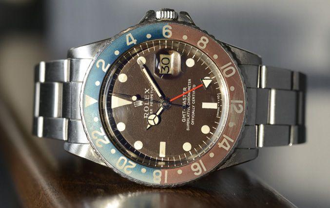 ROLEX 1675 TROPICAL MK1 GMT MASTER