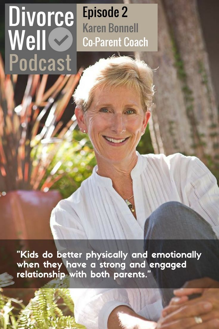Have you ever wondered how some divorced couples make their co-parenting so seamless & cooperative? Christina interviews renowned Co-Parent Coach & author, Karen Bonnell, for tips on achieving co-parenting success. Your host, Christina Vinters, is a nationally designated Chartered Mediator on a mission to inspire and facilitate healthy family transitions. She is a gratefully non-practicing Lawyer,  and Author. #divorce #separation #coparenting #coparents