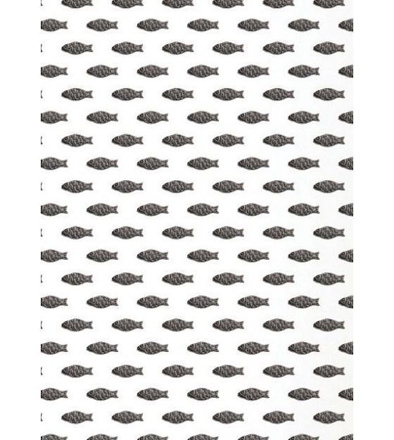 KEK Amsterdam Behang papier zwart/wit 8.3m x 47.5 cm, Wallpaper 088 - wonenmetlef.nl