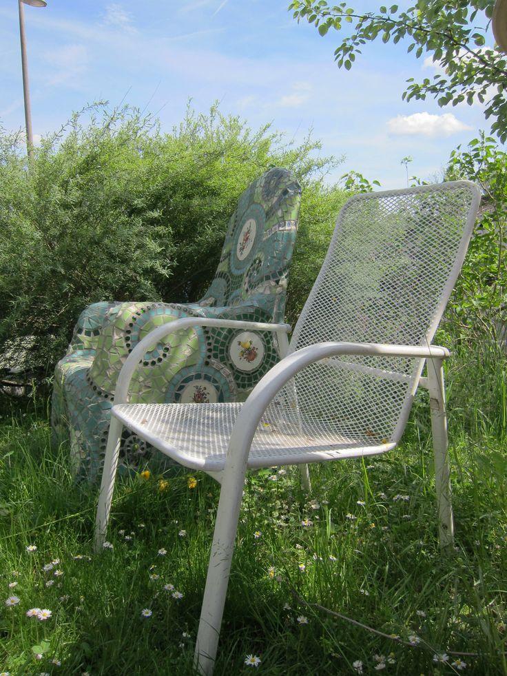 Frances Green - Mosaic Chair Tutorial