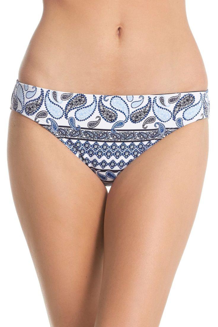 'Paisley Terrace' Hipster Bikini Bottoms