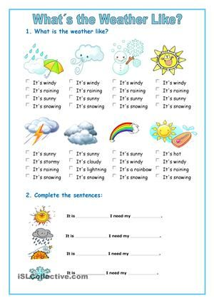 8 best weather images on pinterest weather worksheets learn english and learning english. Black Bedroom Furniture Sets. Home Design Ideas
