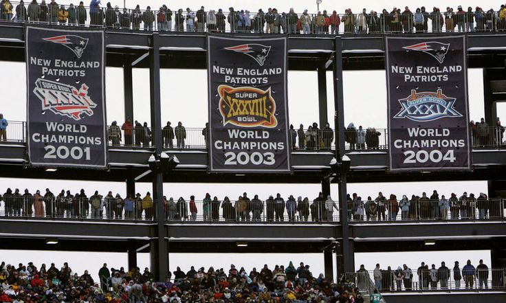 Patriots finally decide on new location for Super Bowl banners = The New England Patriots have taken to Twitter to display the introduction of their newest Super Bowl banner, which will forever hang in the annals of Gillette Stadium. Because of.....
