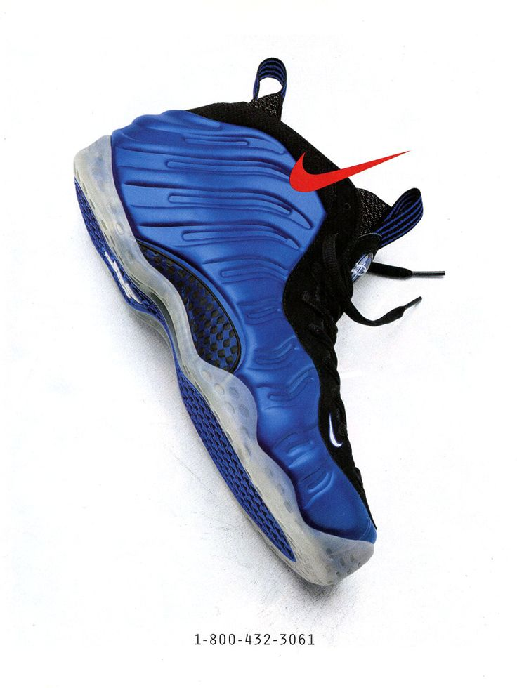Vintage Ad: Nike Foamposite One | Sole Collector
