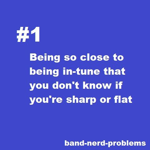 Band Nerd Probs!!! Argh this is sooo annoying when you're about to compete and there's me tuner around!!!!