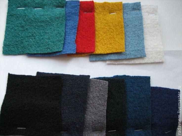 Купить Ткань шерсть Лоден Марсала - теплая юбка, вареная шерсть, для шитья одежды
