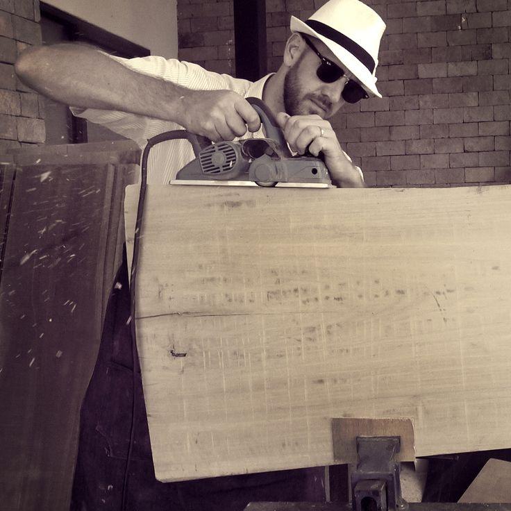 Woodrow and Wood.  Building a Saskatchewan Coffee Table