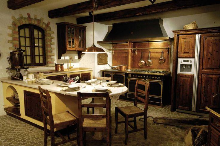 acaminetti rustici idee classiche chic : Caminetto Cucina Rustica: Caminetti rustici mapa. Cucine rustiche con ...