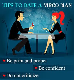 what to do when dating a virgo man