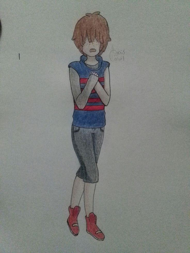 Fanart hecho por mi de Loon :) #DibujitosLocos #Dibujo #fanart #FNAFHS #loon
