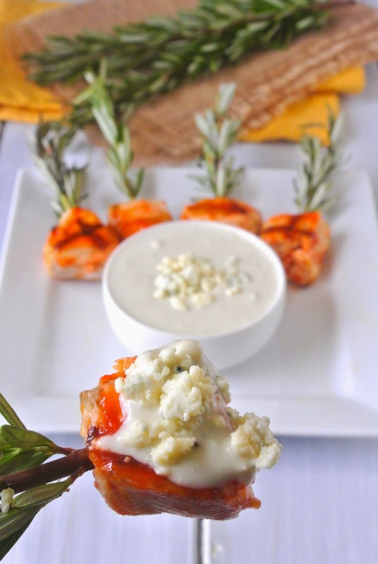 A quick and easy dressing with so much flavor and chunks of blue cheese.