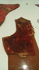 Porzione del farsetto appartenente al corredo funebre di Pandolfo III Malatesta (Rimini 1370 - Fano 1427), Musei Civici di Fano, prov. PU (Andrea Carloni (Rimini)