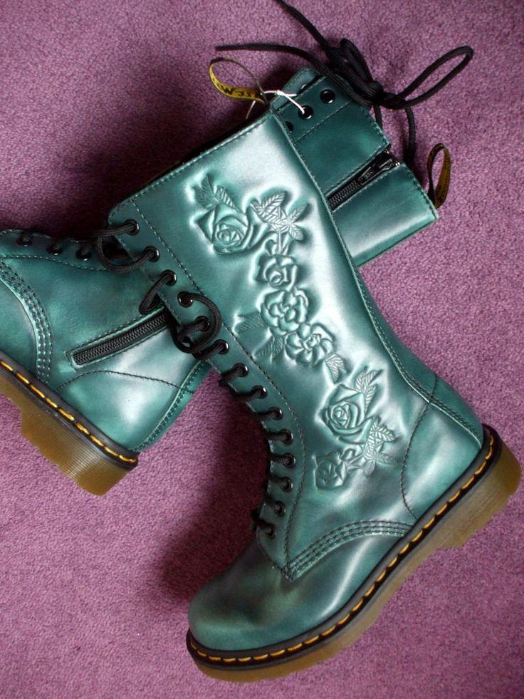 ♥ Dr Martens Teal Norah Boots ♥ | Lovelovelove! :D Got these… | Flickr