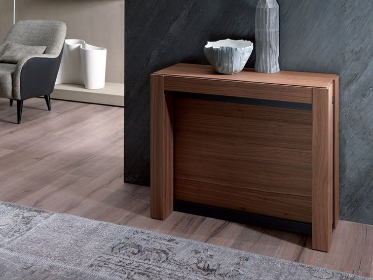 download the catalogue and request prices of a4 by ozzio italia extending rectangular wooden console