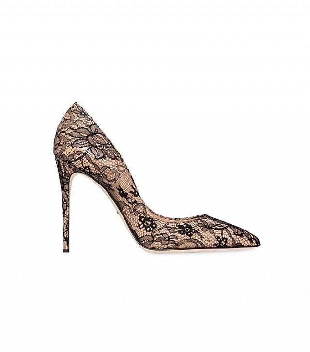 Why I Think Expensive Heels Are Totally Worth the Money via @WhoWhatWear   Dolce & Gabbana,ValentinoPatent Leather & Lace Pumps($1095)