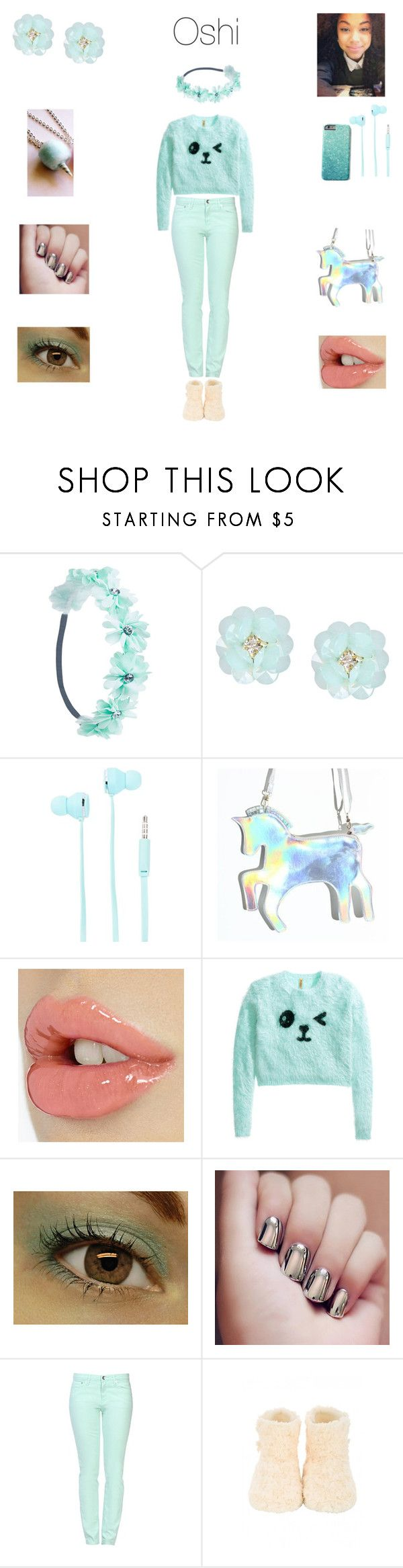 """Yosei Ojo 3"" by neoncupcakes23 ❤ liked on Polyvore featuring Wet Seal, Dettagli, Merkury Innovations, H&M and Love Moschino"