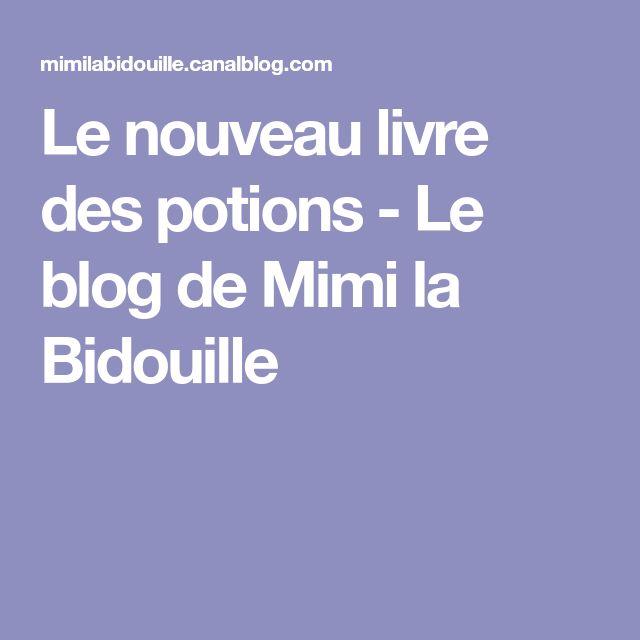 Le nouveau livre des potions - Le blog de Mimi la Bidouille