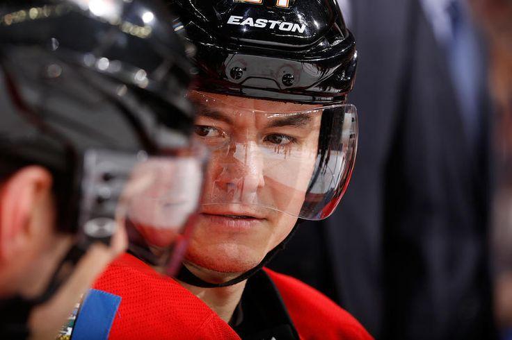 Jiri Hudler #24 Calgary Flames