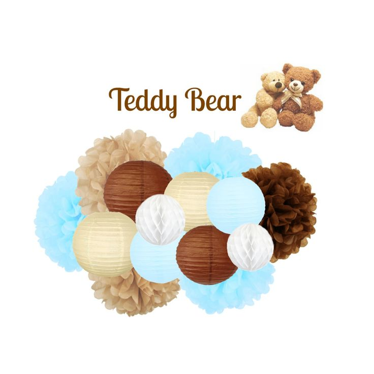 Teddy Bear Baby Shower Decoration - Teddy Bear Party Decoration                                                                                                                                                                                 More