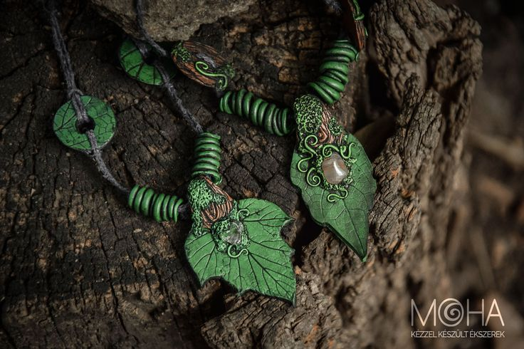 Elven amuletts. Fully handmade.  Made from polymer clay. www.facebook.com/vickpicture www.facebook.com/mohaekszer