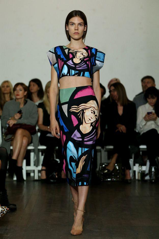 Australian Fashion Designer Debuts Sassy Jesus Prints #fashionweek