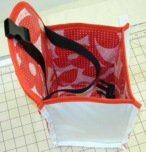 Insulated lunch bag tutorial