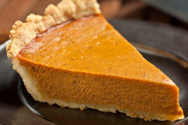 Easiest Pumpkin Pie Ever -- no fussy pie dough!
