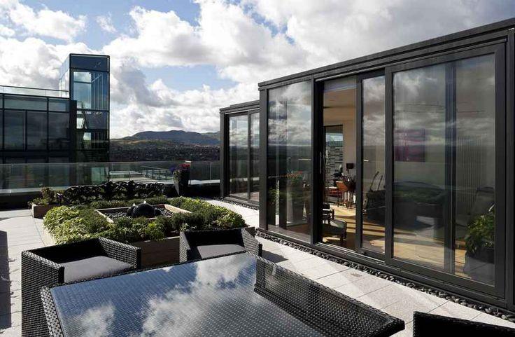 Quartermile Flat Penthouse Extension - Edinburgh