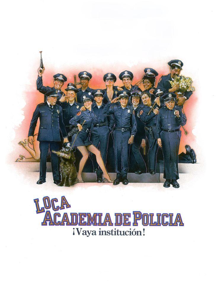 Loca academia de policía (1984) - Ver Películas Online Gratis - Ver Loca academia de policía Online Gratis #LocaAcademiaDePolicía - http://mwfo.pro/1818672