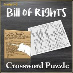 Crossword highlighting the main ideas of the 10 amendments that make up the Bill of Rights.  Clues are taken directly from the text of the Bill of Rights and reference the amendment where the answer may be found.Would be good as a class assignment, independent assignment, or even as a quiz, as it is focused on the main rights given to the people.Click links below for more great crosswords by Kim Jelinek!Famous Explorers of the New WorldFive Themes of Geography CrosswordNew York City…