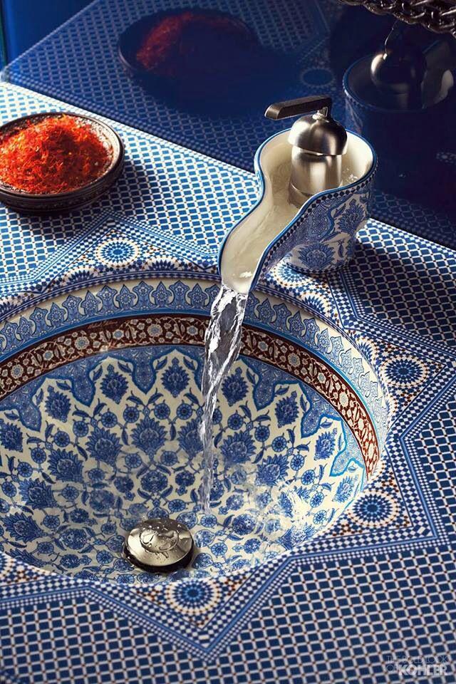 Maroccan sink