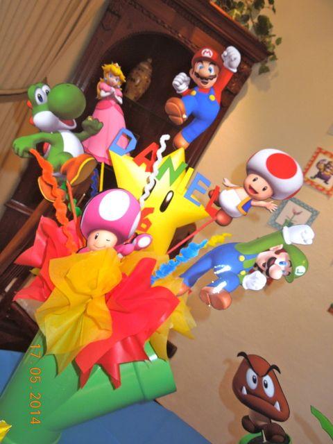 Centro de mesa Super Mario 2