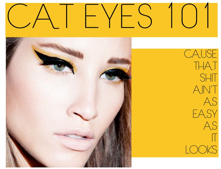 Easy Cat Eye With Tape