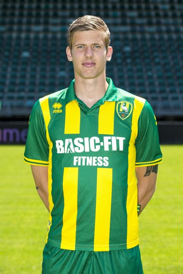 Michiel Kramer - top striker for ADO Den Haag now.
