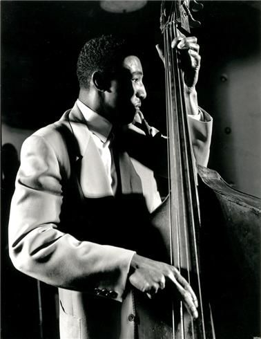 Ray Brown, NYC, New York, 1948: Jazz Bass, Music Musicians Compo, Herman Leonard, Double Bass, Jazz Musicians, Nyc 1948, Leonard Photography, Music Herman, Ray Brown