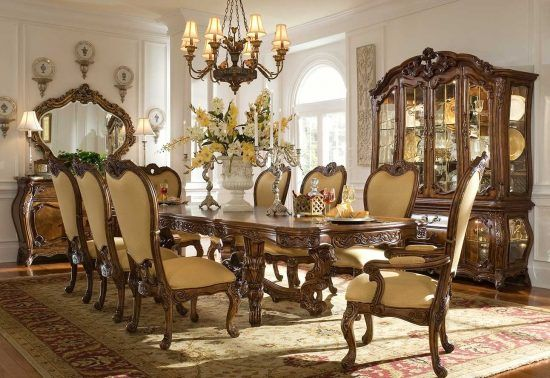 81 Elegant And Beautiful Dining Sets, Fancy Dining Room Sets
