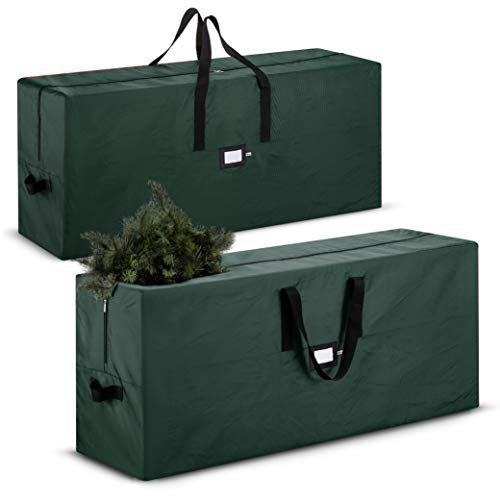 2 Pack Large Christmas Tree Storage Bag Fits Up To 9 Ft Tall Artificial Disassembled Tre Christmas Tree Storage Bag Tree Storage Bag Christmas Tree Storage