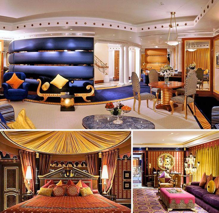 This is burj al arab dubai 39 s iconic luxury hotel as es for Top 5 luxury hotels in dubai