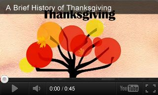 Give middle school students a brief look at the history and traditions of Thanksgiving with this video and three related extension activities. http://www.teachervision.fen.com/thanksgiving/video/72968.html
