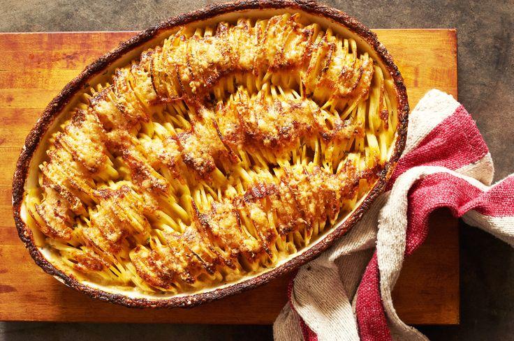 NYT Cooking: Cheesy Hasselback Potato Gratin